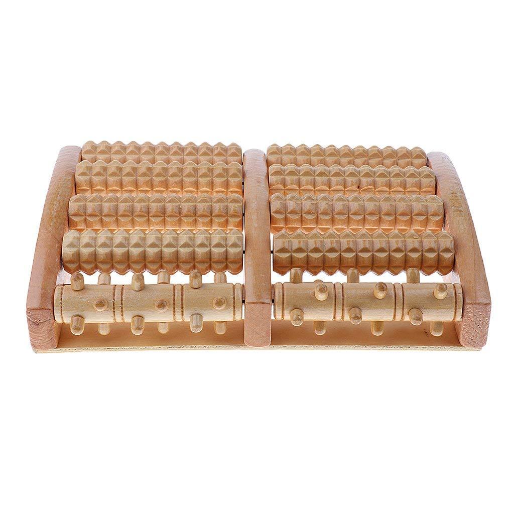 rodillo madera para masaje pies